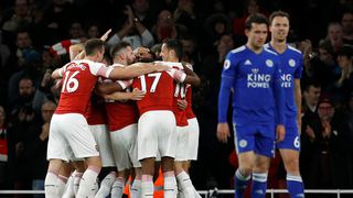 Arsenal - Leicester City'i rahat geçti