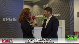 Domino's Pizza Eurasia Group CEO'su Aslan Saranga