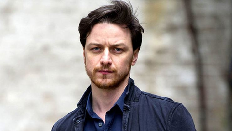 James McAvoy ve Clarke Peters His Dark Materials kadrosunda